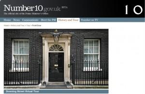 WordPress er populært i Downing Street 10